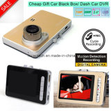 Slim Hot Sale 1.3 Mega Car Dash Camera Digtial Video Recorder Black Box com Motion Detection Car Truck DVR-2443