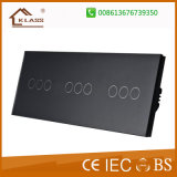 Commerce de gros de haute qualité 3gang gang gang+3+3interrupteur mural électrique