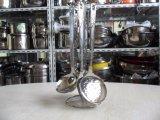 Het Keukengerei van het roestvrij staal met de Spatel van het Metaal van de Steun