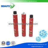 Offset imprimé 6c tubes d'emballage en métal pour crème couleur cheveux