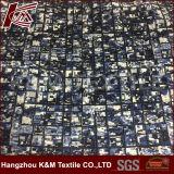 Heavy élastique satin de soie imprimés personnalisés pour vêtements en tissu de coton