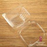 Wegwerf-HAUSTIER Plastiksalat-Kasten (klein)