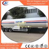 25tons 56000liters ASME S516 Material LPG Tanque LPG Semirremolque