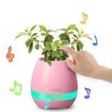Neuer magischer intelligenter Blumen-Potenziometer Bluetooth Lautsprecher-intelligente reale Pflanzennoten-Spielled helle Flowerpot-Noten-Blume der Musik-2017 zum zu singen