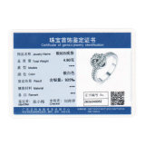 가을 수집 925 순은 여자 약혼 반지를 위한 번쩍이는 사랑 매듭 직물 핑거 형식 과료 보석 반지