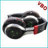 Écouteur pliable de Bluetooth d'éclairage LED de qualité, écouteurs sans fil