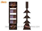 Soporte de visualización de la cartulina del estante de visualización del papel acanalado para la venta al por menor