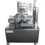 Type rotatoire machine remplissante de cachetage de boîte de pommes chips