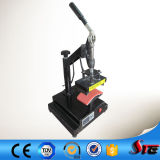 Máquina manual de la prensa del calor del casquillo