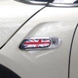 De gloednieuwe ABS Materiële UV Beschermde Zwarte Dekking van de Lamp van de Vervanging van de Stijl van Union Jack van de Kleur Zij voor Mini Cooper F55 F56 (2PCS/Set)
