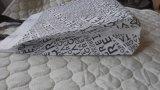 La promozione ha laminato l'acquisto sacchetto non tessuto della maniglia di elettronica