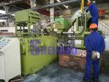 A velocidade horizontal Chips de cobre de briquetes a máquina para reciclagem
