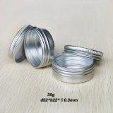 чонсервные банкы контейнера олова бальзама губы металла 30g 1oz алюминиевые