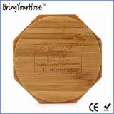 Madera de bambú Cargador inalámbrico para el móvil (XH-PB-141)