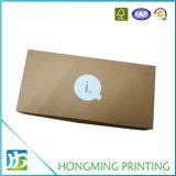 Zijde die de Bruine Verpakking van de Doos van Kraftpapier voor Kaars afdrukken
