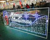 LEDの休日の照明装飾のクリスマスの街灯
