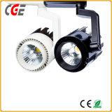 Las lámparas LED 15W/18W/21W de luz de la pista LED PAR28/LED PAR30 de la luz de abajo de la luz de interior