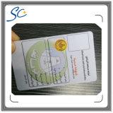 Scheda di identificazione di foto del personale