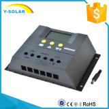12V/24V 50A Controlador solar con el máximo de entrada de la PV de 36V CM5024