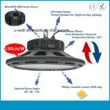 150lm/W alto indicatore luminoso della baia del UFO LED con Philips SMD 3030 LED 5 anni di garanzia
