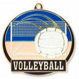 China Volleyball-Sieger-Goldabzeichen-Preis-Medaille des Druckguss-3D