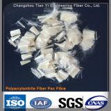Fibra Polyacrylonitrile Pan para construção e matérias-primas