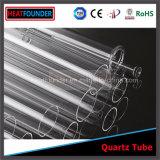Ein Enden-geschlossenes Quarz-Gefäß/optisches Polierquarz-Glasgefäß