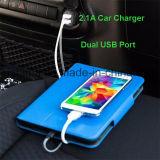 Schnelle Doppel-USB-Auto-allgemeinhinaufladeeinheit für iPhone Samsung