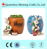 La decoración del hogar de regalo de recuerdo de la resina Animal titular de la pluma de Conejo