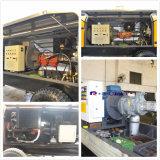 Bomba concreta elétrica do motor 80 M3/H de Simens da manufatura da polia (HBT80.16.110S)