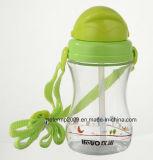 Sports schöner Plastik 350ml Wasser-Flasche, lange Lebensdauer-Produkte (hn-1203)