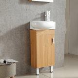 Suelo tamaño pequeño - vanidad de múltiples capas montada de madera del cuarto de baño