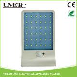 Indicatore luminoso esterno alimentato solare diretto del sensore della parete del giardino della fabbrica