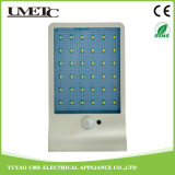 Luz al aire libre accionada solar directa del sensor de la pared del jardín de la fábrica