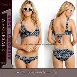 De in het groot OEM Bikini van het Strand van het Badpak Swimwear van de Vrouwen van de Voorraad Sexy (TKYA1246)
