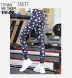 La mode d'OEM plus le yoga Legging de dames de taille avec vous possèdent le logo