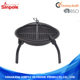 Outdoor Steel Round Outdoor Outdoor BBQ Charcoal Fire Pit