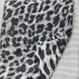 Sciarpa grigia del fiore di stampa di colore, scialli dell'accessorio di modo delle donne