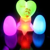계란 모양 승진 선물 (4030)를 위한 소형 아이 LED 밤 빛