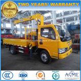6개의 바퀴 트럭은 XCMG 기중기 4t 기중기 트럭 5t 가격으로 거치했다