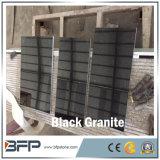 Zuivere Zwarte Opgepoetste Natuurlijke Countertop van het Graniet voor de Tegels van de Teller en van de Muur van de Keuken