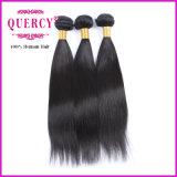 Cabelo reto natural da onda reta humana a mais popular e barato a mais brasileira do cabelo de Remy do Virgin (SW-029)