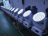 LEDの移動ヘッド洗浄ライト