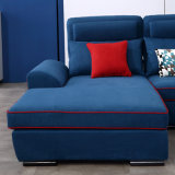 Moderner Entwurfs-Wohnzimmer-Fussel-Gewebe-Sofa für Hotel-Schlafzimmer-Möbel - Fb1149