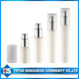 Bottiglia senz'aria della bottiglia di PETG della lozione della pompa della bottiglia 15ml della lozione senz'aria senz'aria di figura rotonda