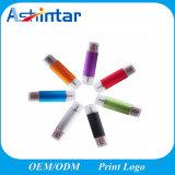 Memoria Mini USB OTG Teléfono USB Stick USB Flash Drive de metal