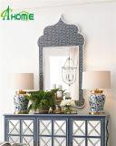 青いカラーホーム装飾的のための一義的で創造的なハング壁ミラー