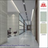 De marmeren Steen verglaasde de Opgepoetste Tegels van de Vloer van het Porselein/Marmeren Tiels (VRP69M025)