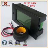 Energien-Energie-Digital-Energien-Messinstrument des Wechselstrom-einphasig-100A 4in1 Strom-Spannungs-