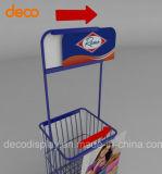 Supermarkt-Eisen-Metallbildschirmanzeige-Regal für Imbiss-Förderung